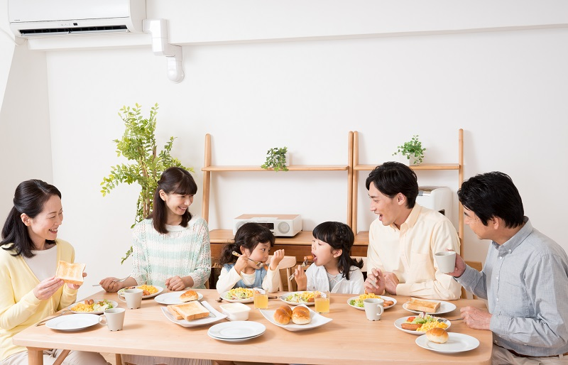 朝食_たまご_藤野屋商店1